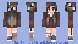 Young Secrets Minecraft Skin