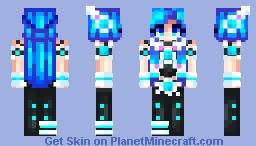 Artificial Intelligence (A.I.) Minecraft Skin