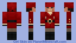 A Somewhat Goofy-Looking Pirate Minecraft Skin