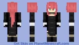 "Pyrrha Nikos ""Nier: Automata"" -RWBY- ~Requested by Crossbreed Priscilla~ Minecraft Skin"