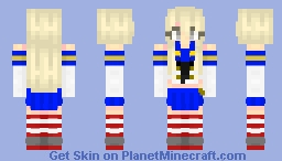 [Kantai Collection] Shimakaze-class Destroyer - Shimakaze Minecraft Skin