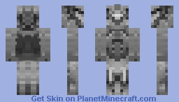 Commando w/ Backpack (Better In 3d) Minecraft Skin