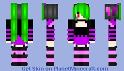 CyberPunk Reloaded skin contest entry - Mel Minecraft Skin