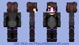 cyberpunk -- ɐᴉlǝɥdo Minecraft Skin