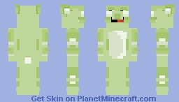 The green monster Minecraft Skin