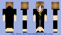 Hufflepuff Girl Minecraft Skin