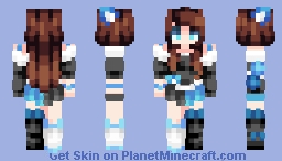☆ βενεℜℓγ ☆ Whispers in the Mist~   (ST w/ Labyrinth) Minecraft Skin