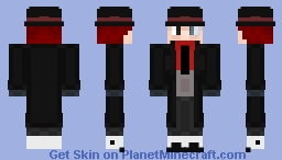 Humanized Black Hat (Request) Minecraft Skin