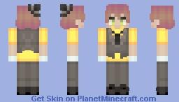 magic gecko boy (Harrison) [Camp Camp] Minecraft Skin