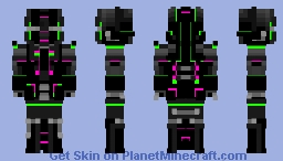 ~[] CyberBandit []~   - Part of 'Cyberpunk reloaded' skin contest Minecraft