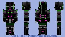 ~[] CyberBandit []~   - Part of 'Cyberpunk reloaded' skin contest Minecraft Skin