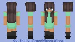𝓯𝓵𝔁𝔀𝓮𝓻𝓼 ❤ || Wanky's request (2)  ღ Minecraft Skin