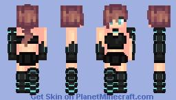 Vuii | Typical Cyberpunk Skin Minecraft Skin