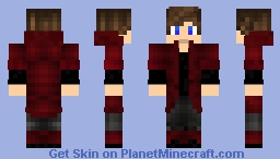 RED guy Minecraft Skin