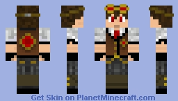 Steamer Minecraft Skin