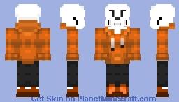 underswap papyrus Minecraft Skin