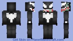 Marvel Comics -- Venom  [CletusKasady_] Minecraft Skin