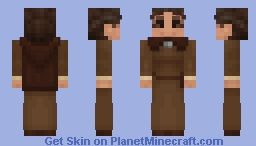 Wheel of Time: Verin Mathwin, Aes Sedai of the Brown Ajah (Alex-sized version) Minecraft Skin