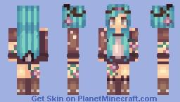 Adorable Fairy Girl Minecraft