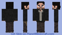 The Walking Dead Aaron - season 8 Minecraft Skin