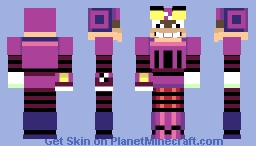 A pretty accurate Crow (Looks better in view)) Minecraft Skin