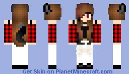 Casey (Undertale OC) Minecraft Skin