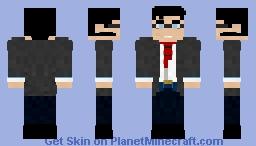 Clark Kent | Superman Minecraft Skin