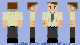 Perry White | DC Minecraft Skin