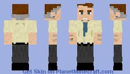 Perry White | DC Minecraft Skin