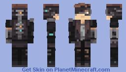 Cyber Boye Minecraft Skin