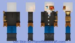 Cyber Rebel - (PMC Cyberpunk Reloaded Skin Contest) Minecraft