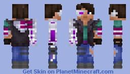 Cyberpunk robber Minecraft Skin