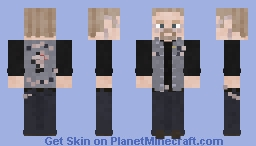 Piney Winston // Sons of Anarchy Minecraft Skin