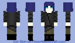"EV-3 ""Eve"" 8K | Test #3 ~Ὠκεαν~ Minecraft Skin"