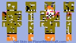 Best Fnaf4 Minecraft Skins Page 3 Planet Minecraft
