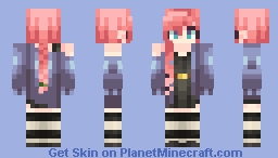 Head to Heel Minecraft Skin
