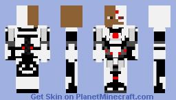 Cyborg-injustice 2 Minecraft Skin