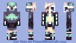 Broken bones Minecraft Skin