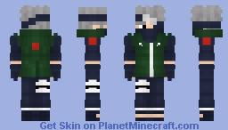 Kakashi Hatake Minecraft Skin