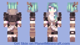 OC Hunter Minecraft Skin