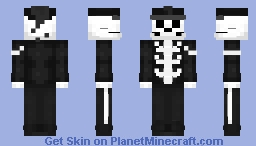 MCR - My Chemical Romance - Skeleton Minecraft Skin