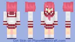 Kobayakawa Yukata Minecraft Skin