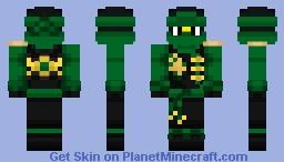 Lloyd (NinjaGo SkyBound) Minecraft Skin
