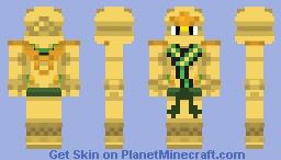 Lloyd (NinjaGo season 2 - Golden Ninja) Minecraft Skin