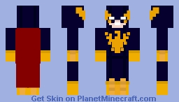 Nighthawk (Kyle) (Marvel) Minecraft Skin