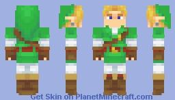 Ocarina Of Time Link (+Goron, Zora, and Dark alts!) Minecraft Skin
