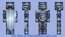 Patrol Bot 500 Minecraft Skin