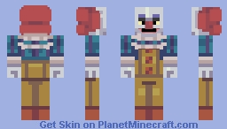 IT- Pennywise-Classic Minecraft Skin