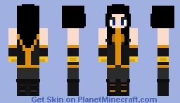 Power Princess (Zarda) (Marvel) Minecraft Skin