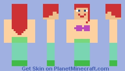Princess Ariel (Disney's The Little Mermaid) Minecraft Skin